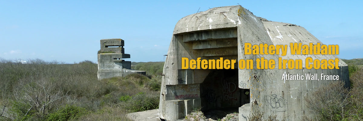 Battery Waldam - Atlantic Wall