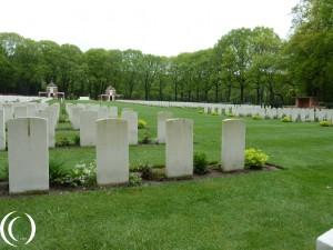 Commonwealth Cemetery Arnhem , Operation Market Garden in Oosterbeek – The Netherlands