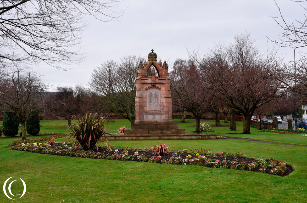 War Memorial Dalkeith – Scotland
