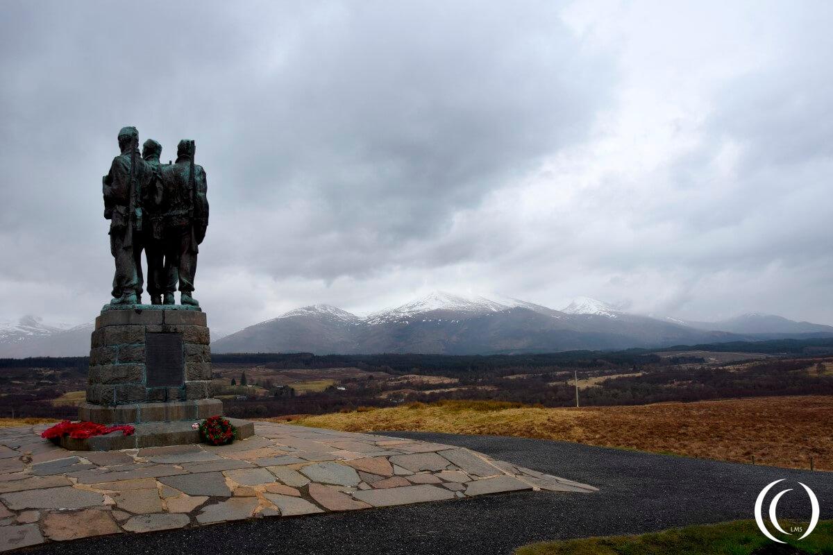 Commando Memorial – Spean Bridge, Lochaber Scotland