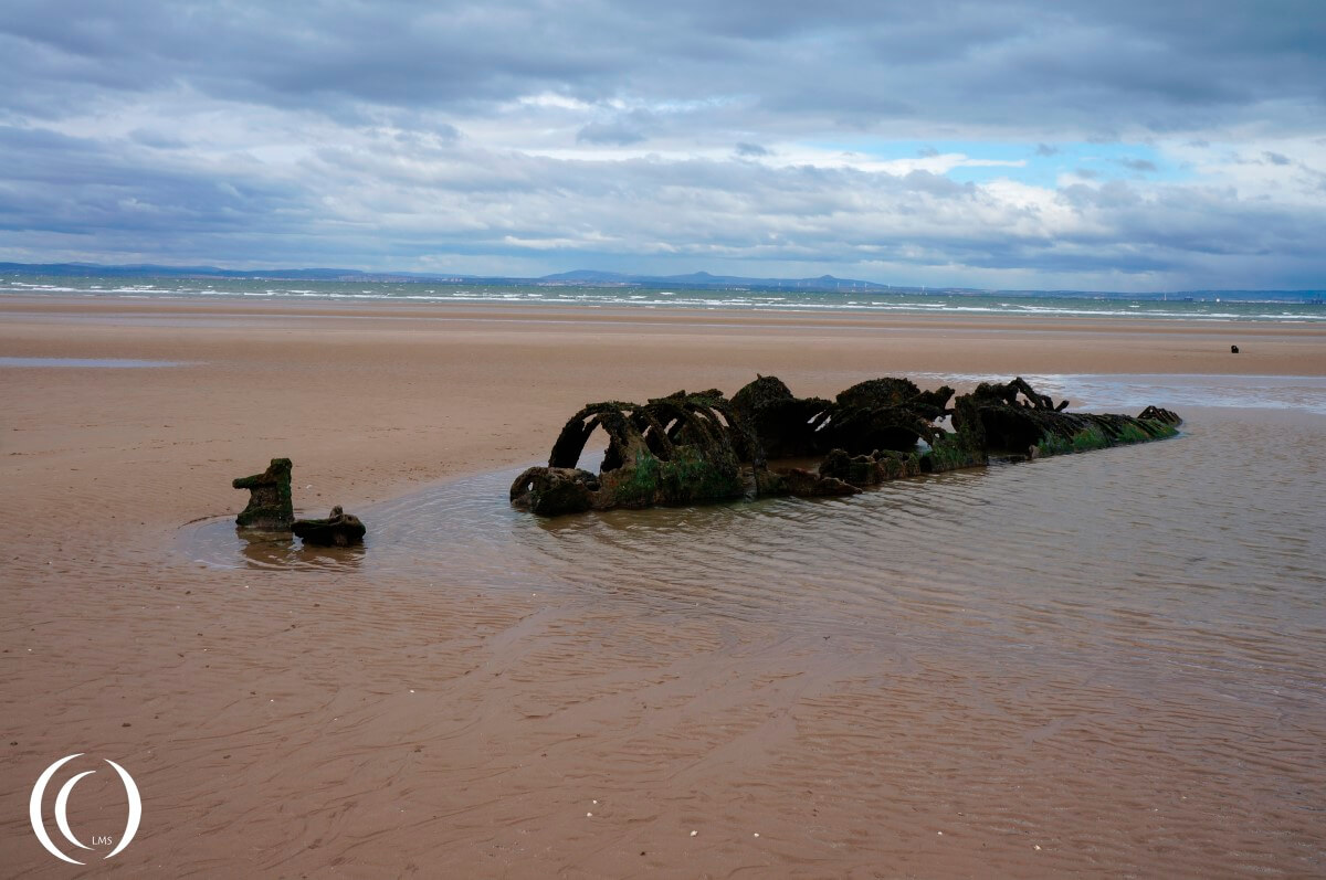 X-Class Midget Submarine, Aberlady Beach East Lothian Scotland
